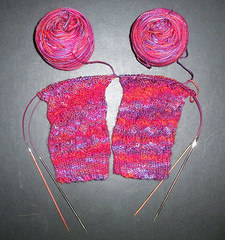 River Rapid Socks - Ready for Heel Flap