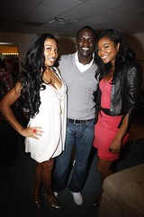 akon gabrielle union and a cutie