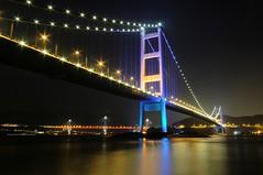 Hong Kong - Tsing Ma and Ting Kau bridges