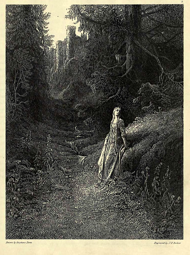 05- Elaine en su camino a la cueva
