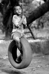 play time (.emong) Tags: blackandwhite cinema black film wheel canon philippines canoneos20d swing boses zambales canonef50mmf18ii pinoycentric larawangpinoy julianduque