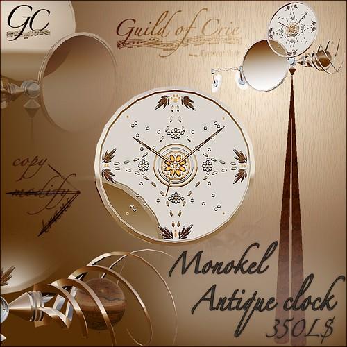 """""""Monokel Antique clock"""""""
