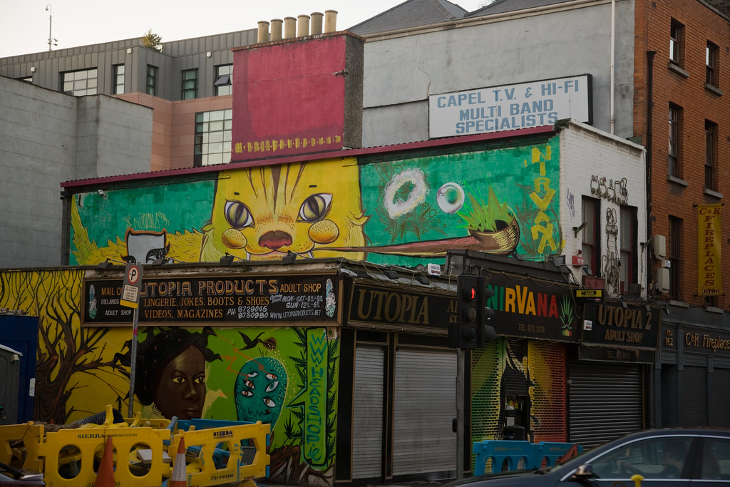 "Nirvana ""Head Shop"" On Capel Street - Dublin"