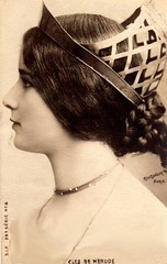 La Belle Epoque ! Cleo de Merode (Miss Mertens) Tags: old woman paris france frankreich postcard femme belle frau jugendstil schauspielerin epoque