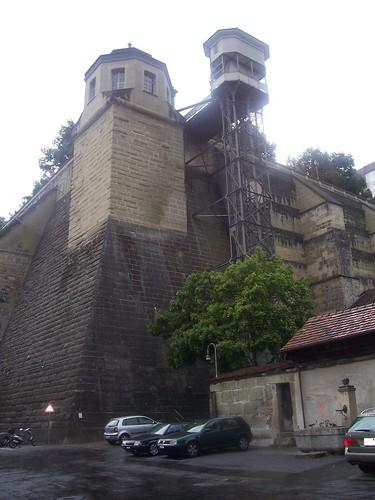 The Münsterplattform lift