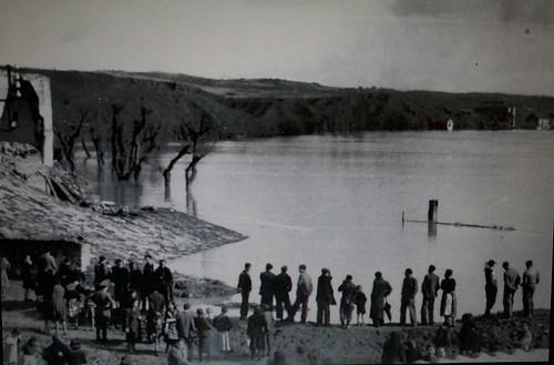 Inundación de 1947 en Toledo. Vega alta.