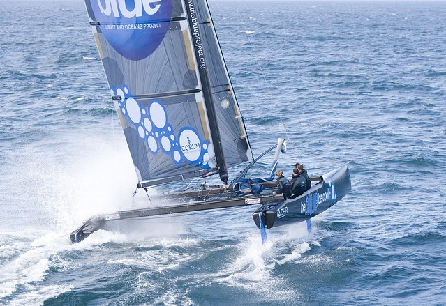 EX40 -  Be Blue Be Cool - Sailing - Watersports by helenwokersien