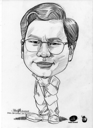 Caricatures Web in Travel 2008 Lee KW