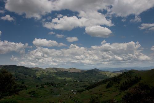 Uganda from the hill behind Kisiizi