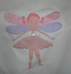 Fada Bailarina (Atelie Maria Chocolate by maria Bianco) Tags: baby bebe princesa bailarina chdebebe fada mantabebe