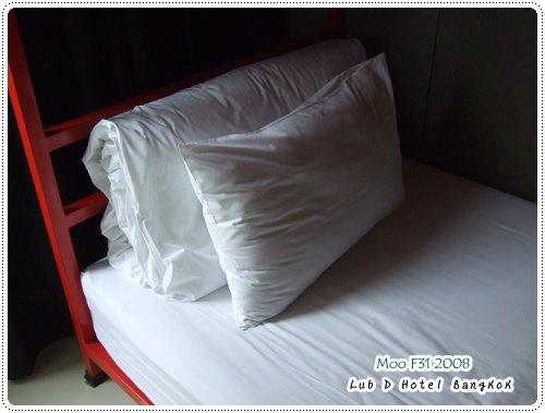 Lub d Hotel-床(1)