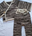 Chocolate and Cream Wool Set -7 Day Auction