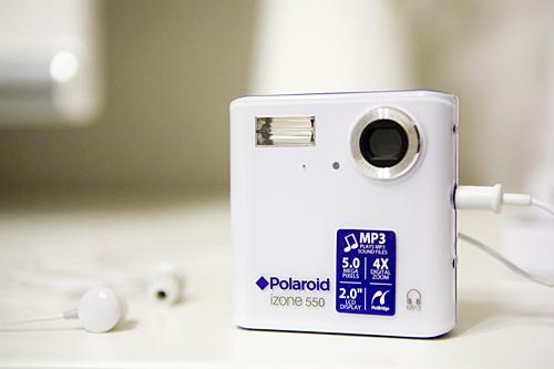 【写真】Polaroid izone 550 Digital Camera 1