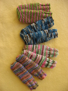 Free Knitting Patterns Babies : Ravelry: Easy Baby Garter Stitch Tube Socks pattern by Kathy Wishnie