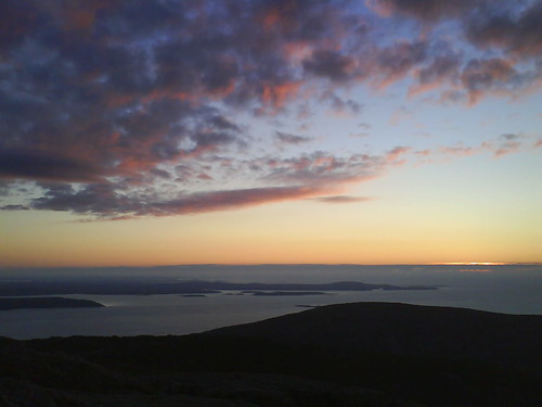 Sunrise at Cadillac Mountain