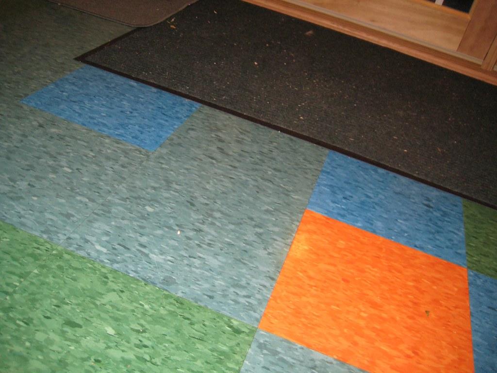 Tile floor mops