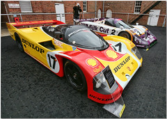 1990 Shell Porsche 962C Group C. Goodwood Festival Of Speed 2008. (Explore) (Antsphoto) Tags: uk classic car sussex britain shell racing historic explore grandprix porsche silkcut 2008 hdr goodwood motorsport topaz dunlop v12 twr 962 goodwoodfestivalofspeed flickrexplore goodwoodhouse redporsche redracecar redmachine dunloptires jaguarxjr9 turboporsche lordmarch antsphoto yellowracecar topazadjust lemans1988 stuckbellludwig redandyellowporsche twrjaguar anthonyfosh