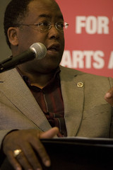 Supervisor Mark Ridley-Thomas at an Arts for LA event