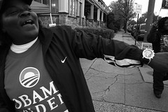 (Tim Castlen) Tags: baltimore ricohgrdigital charlesvillage obama08 barclayelementaryschool