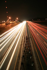 Highway 401 at Brock Street Overpass, Whitby, Ontario (Tony Lea) Tags: street longexposure bridge toronto ontario canada cold cars station speed highway exposure slow durham traffic wind time go overpass windy timeexposure rush hour whitby shutter brock gta region soe 401 opp gotransit abigfave anawesomeshot trafficstream rubyphotographer trafficstreak
