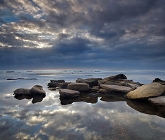 Another Reflection (Tim Donnelly (TimboDon)) Tags: ocean sea seascape reflection sunrise australia cokin naturesfinest bungan