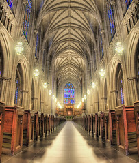 The Heart of Religious Life at Duke University (Karnevil) Tags: usa church nc nikon durham religion northcarolina duke chapel hdr dukeuniversity bluedevils dukechapel d300 stitchshot impressedbeauty