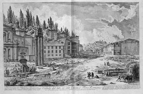 007-Vista del lugar donde estaba el antiguo Foro Romano