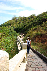 A Walk in the Woods (Justin Gaurav Murgai) Tags: road trees green island hongkong coast path walk hill pedestrian trail cheungchau minigreatwall aplusphoto colourartaward