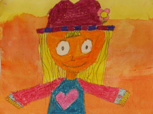 Kaela's scarecrow