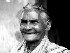 paati (MayaMem) Tags: portrait blackandwhite woman india white black history lines rural women grandmother indian tribal september age memory strong aged 2008 wrinkles orissa femininity adivasi kondh