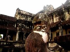 Chinthe at Angkor Wat