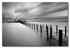 Knightstone Island (Gary Newman) Tags: uk longexposure england bw island somerset westonsupermare d300 knightstone