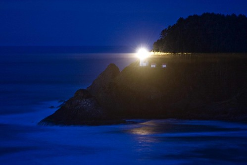 Heceta Head at night LR