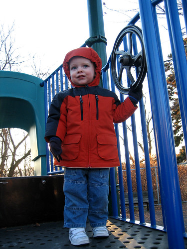 erik at the playground