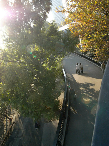 Ueno zoological garden west zone bridge
