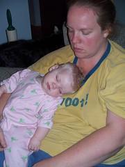Sleepin' with momma! (Ludeman99) Tags: sarah eowynlouisebitner