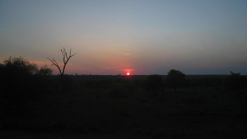 Sunrise over Kruger Park, South Africa
