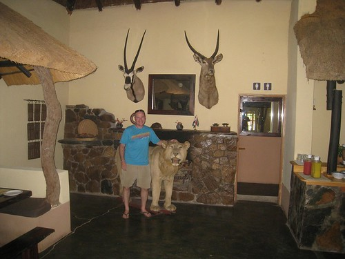 Breakfast at the Timbavati Lodge