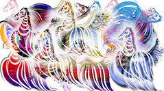 wild horses (cusp kid) Tags: colour photoshop whimsy stripes