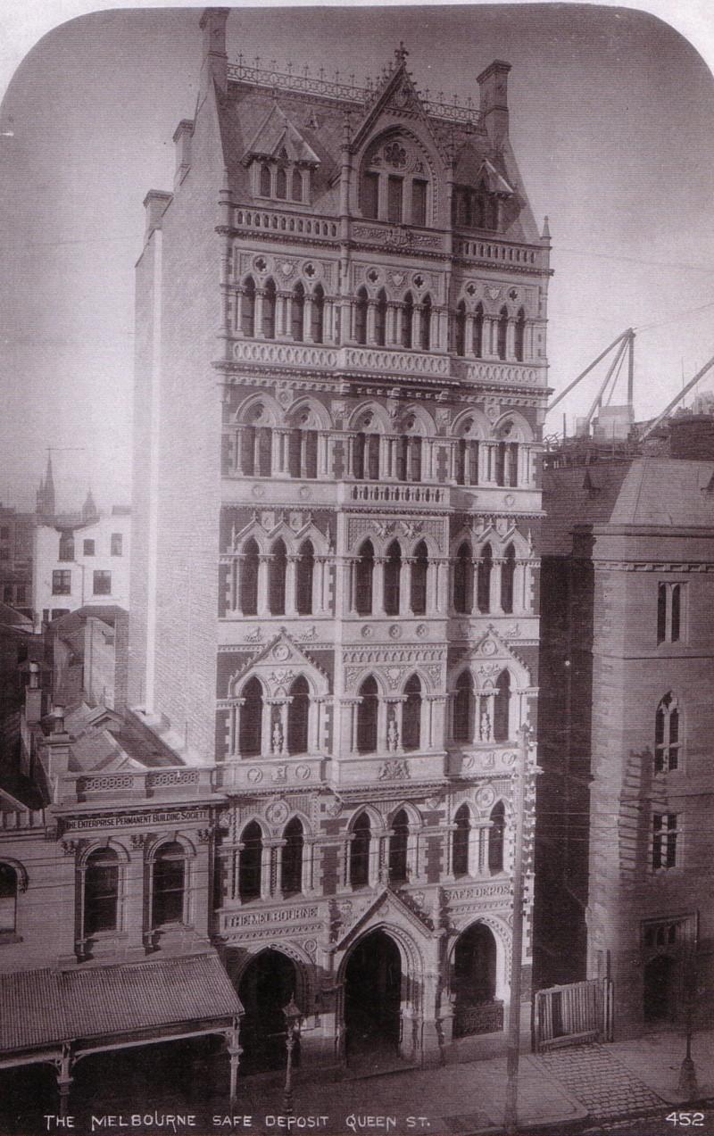 Former Melbourne Safe Deposit Building