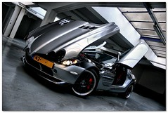 Mercedes SLR McLaren 722 (Milan Bouw) Tags: slr mercedes photoshoot mclaren 722