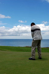 still at hole no. 12 (Kathline Tolosa) Tags: green golf philippines freeway golfcourse tee putt zamboanga