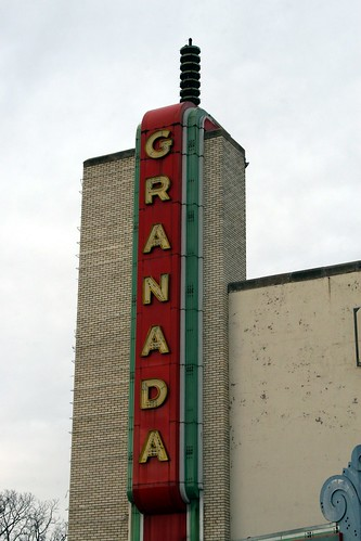 granada sign lettering