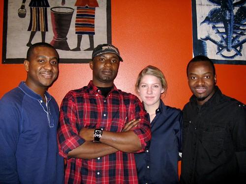 Yul Ouattara and staff