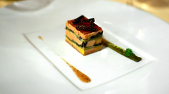 1st Course: La Terrine de Foie Gras