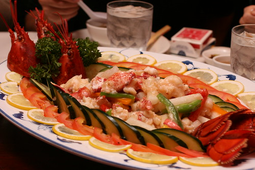 Lobster with Jicama