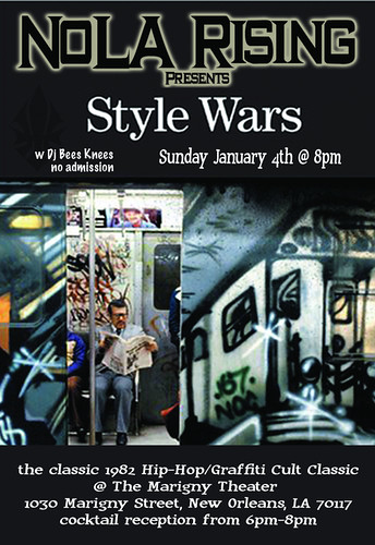 NoLA Rising Presents Style Wars