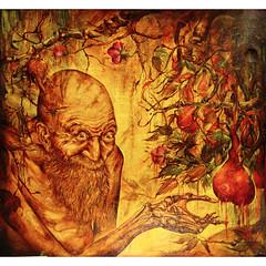 Adam and juicy fruit