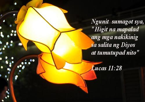 Tagalog Bible Verse