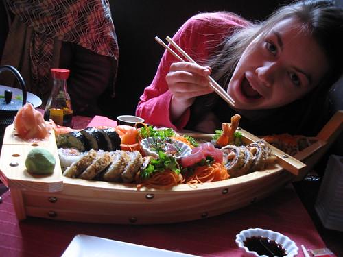 Sushi boat - avant